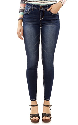 - WallFlower Women's Juniors High Rise Irresistible Denim Jegging in Camila Size: 13