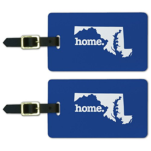 Maryland Home State Luggage Suitcase