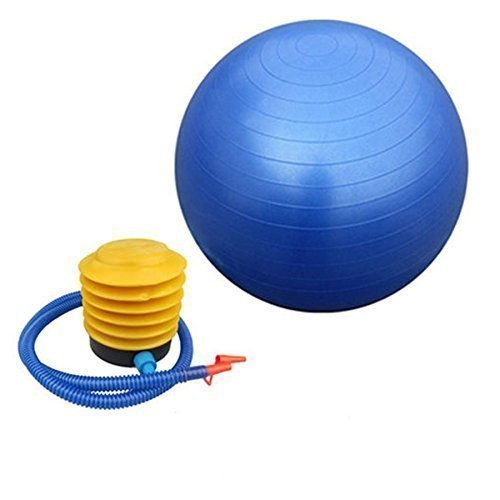 ADEPT AntiBurst   Yoga Exercise Gym Ball with Foot Pump   75 cm