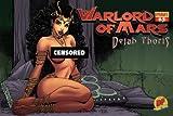 Warlord Of Mars Dejah Thoris #3 DF Exclusive Arthur Adams Risque Nude Art Cover