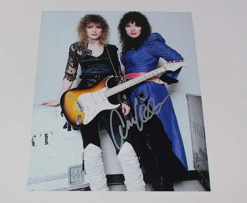 (Heart Dreamboat Annie Crazy on You Ann Wilson Signed Autographed 8x10 Glossy Photo Loa)