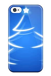 Cute Tpu CaseyKBrown Christmas Tree Case Cover For Iphone 4/4s
