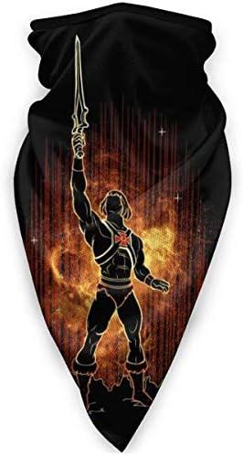 One Punch Man und die Hero Association Indian Jones Logo Gesichtsbedeckung Bandanas für Staub, im Freien, Festivals, Sport