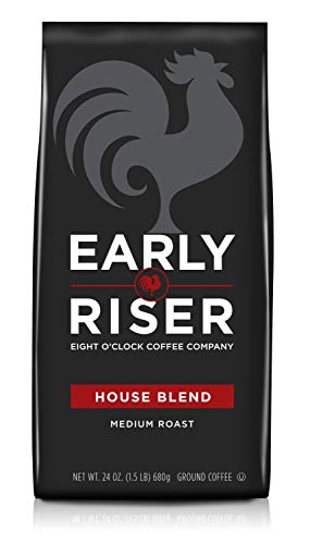 Early Riser House Blend Ground Coffee, 24 Ounce