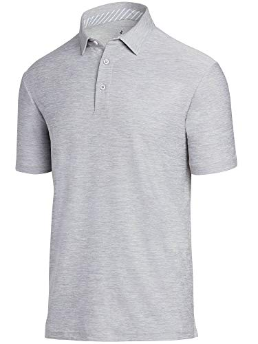(Jolt Gear Golf Shirts for Men - Dry Fit Short-Sleeve Polo, Athletic Casual Collared)