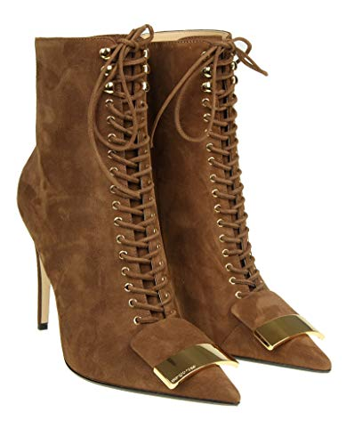 Suede A82331mcaz012479 Rossi Ankle Boots Women's Sergio Brown 6qIw0R4