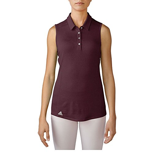 adidas Golf Women's Performance Polo Sleeveless T-Shirt, ...