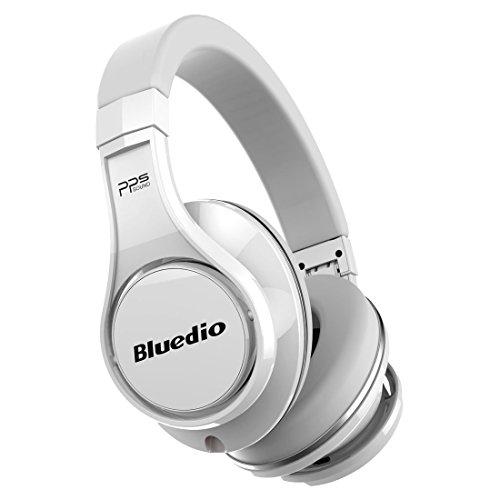 Bluedio U (UFO) PPS 8 Drivers Over-ear Bluetooth Wireless Headphone with Mic (White)