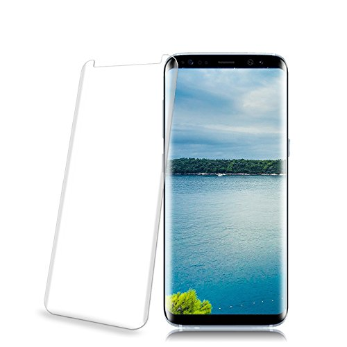Galaxy S9 Glass Screen Protector, Loopilops [9H Hardness] [Anti-Scratches] [Anti-Fingerprint] [Bubble Free] Tempered Glass Screen Protector Film for Samsung Galaxy S9 [1-Pack]