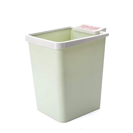 Amazon.com: Creative Bathroom Pressure Ring Square Trash ...