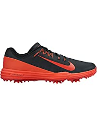 Nike Men's Lunar Command 2 Golf Shoe, Black/White-Black, 15 Wide US