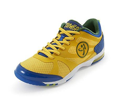 Zumba Footwear ZUMBAIMPACT MAX - Zapatillas Deportivas de Material sintético Mujer, Color Amarillo, Talla 35.5: Amazon.es: Zapatos y complementos