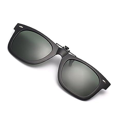 GCR Sonnenbrille Schatten Polarisierende Brille Polarisierende Clip Harz Quadrat Sonnenbrillen Nachtsicht Brille Fahren , B