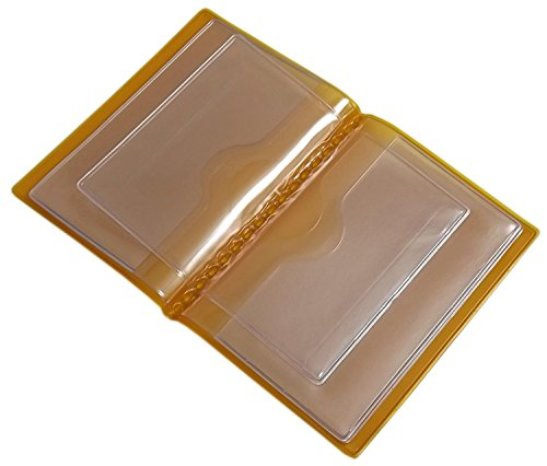 Made Mj design D'identité De Diverses Et transparent Jaune Couleurs Crédit In 12 Ue Designs germany Pochette Compartiments En Porte Carte P8qEzxz