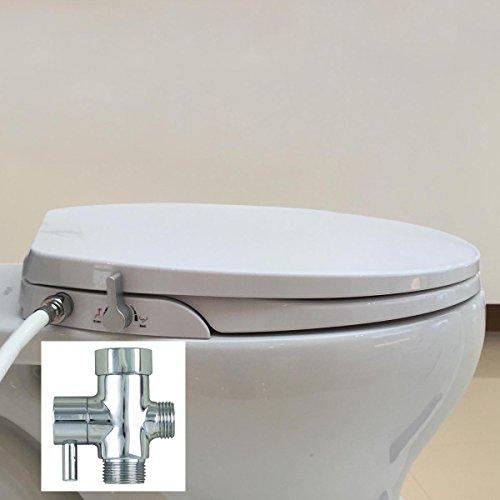 Hibbent Round\/Standard Toilet Seat With Bidet