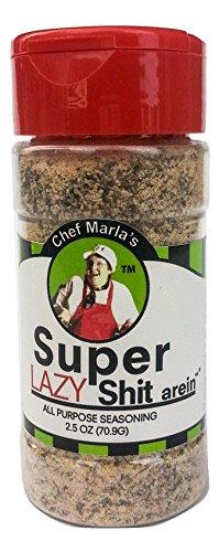 Chef Marla's Super Shit arein - All Purpose Seasoning (Lazy Shit)