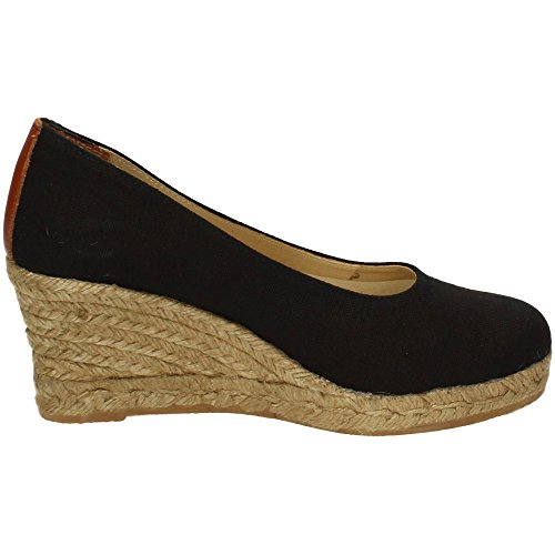 TORRES 4012 Zapatos CUÑA Esparto Mujer Alpargatas Negro 37: Amazon.es: Zapatos y complementos
