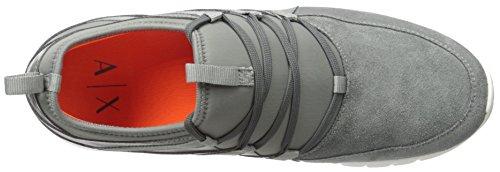Sneaker Armani Grey Sneaker Metropolitan Apache Apache Mens Castor A Metropolitan X Exchange Sqzawa