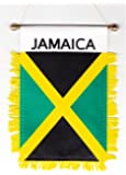 Jamaica - Window Hanging Flags