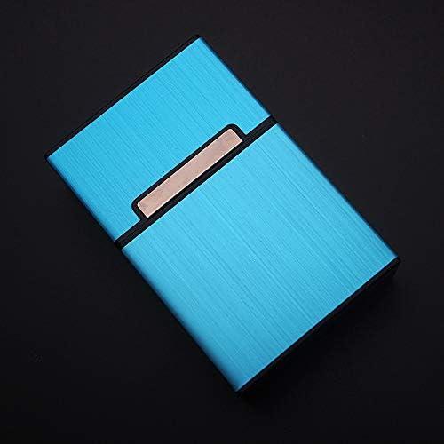 Metal Aluminio Bolsillo Cigarrillo Cigarro Tabaco Caja Estuche: Amazon.es: Bricolaje y herramientas