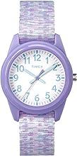 Timex Reloj Analogico para niños de Cuarzo con Correa en Resina TW7C12200