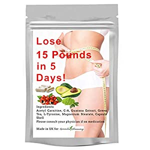 Greenleaf Slimming Diet Pills – Weight Loss Capsules for Men and Woman – Lose 15LBS in 5 Days Premium Slimming Pills Green Tea Extract Diet Pills