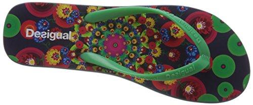 femme Ojo Tongs Multicolore 5001 Desigual Marino 6SqCwWE