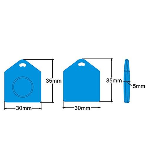 Hi-Quality RFID Silicone House Shape Key Ring Tag (100Pcs)