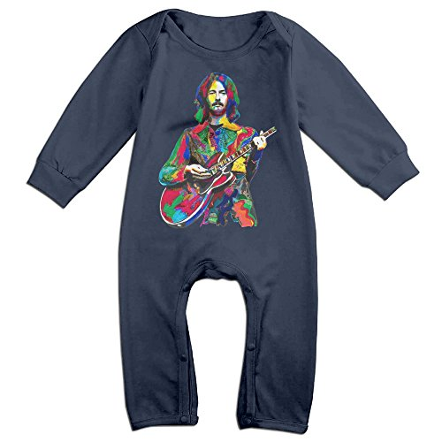 PCY Newborn Babys Boy's & Girl's Eric Guitarist Clapton Long Sleeve Baby Climbing Clothes For 6-24 Months Navy Size 18 Months (Wwe Wii 2013)