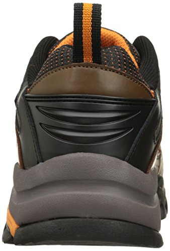 Skechers Men's Delleker Work Boot Brown/Orange Manchester for sale new styles cheap price cheap sale cheap dH1E2td