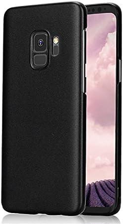 Funda® Firmness Smartphone Funda Carcasa Case Cover Caso + 1 Vaso Pantalla Protector para Samsung Galaxy S9(Negro): Amazon.es: Electrónica
