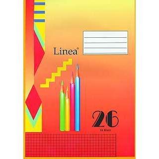 Staufen Schulheft Linea A4 16 Blatt kariert mit Rand
