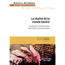 La Chaîne de la Viande Bovine: Production, Transformation