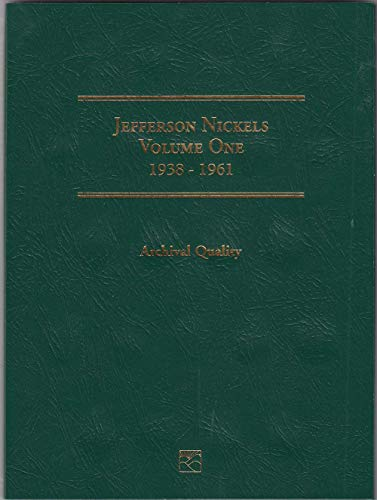 1938 Hard Cover Jefferson Nickels 1938-1961 Littleton Folder # LCF25 Empty by Littleton Coin Company (1999) Album
