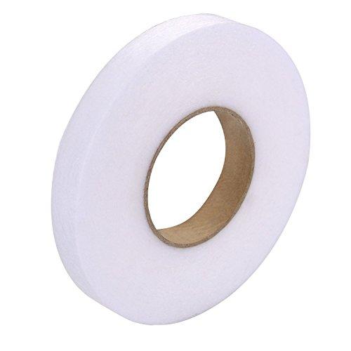 Outus - Cinta adhesiva de tela de 70 m para planchar en el dobladillo sin coser, rollo de cinta para vaqueros, pantalones,...