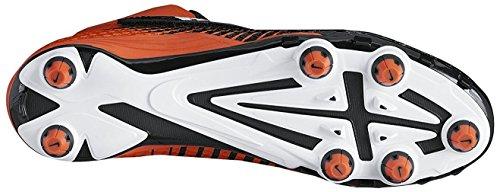 Nike Menns Lunarbeast Pro Td Fotball Cleats Svart / Hvitt-teamet Oransje