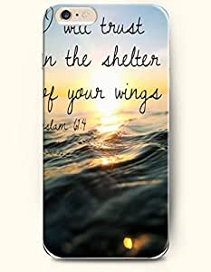 Case For Sumsung Galaxy S4 I9500 Cover Case,OOFIT Case For Sumsung Galaxy S4 I9500 Cover Hard Case **NEW** Case with the Design of I will trust in the shelter of your wings Psalm1Case For Sumsung Galaxy S4 I9500 Cover (2014) Verizon, AT&T Sprint, T-mobile