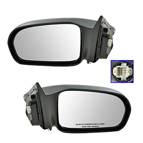 2002 Honda Civic 2 Door (Power Mirror Pair Set of 2 for 01-05 Honda Civic Coupe 2 Door Coupe)