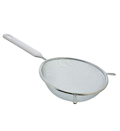 2 Mesh Strainer. Stainless Steel Great Colander for Cooking and Baking. Kitchen Mixing Tool Set.