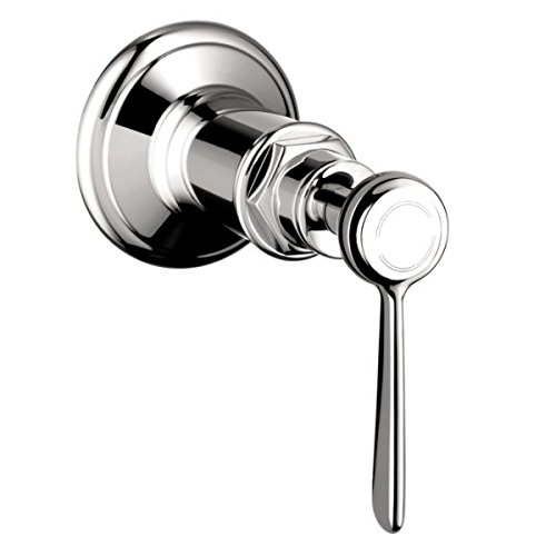 Belle Chrome Faucet (Axor 16872001 Montreux Volume Control Trim with Lever Handle, Chrome)