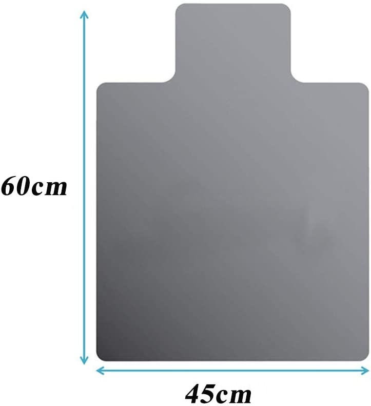 Chair Mat,Sisit Clear Chair Mat for Hard Floors,Heavy Duty Carpet Floor Mat Protector,Polygon Non Slip Office Chair Mat for Carpets,Protective Chair Mat for Hard Floor
