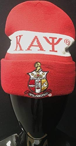 - Kappa Alpha Psi Winter Knit Beanie With Shield