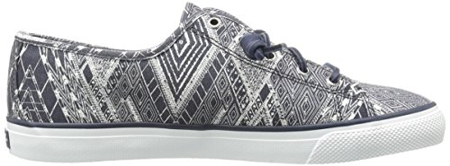 Sperry Top-sider Donna Seacoast Natural Geo Fashion Sneaker Blu