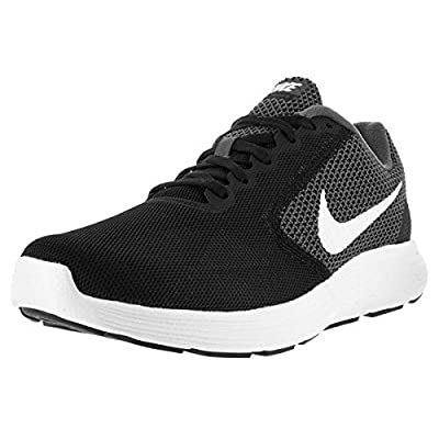 Nike Mens Revolution 3 Gym Trainers Running Shoes Gray 12.5 Medium (D) | Road Running
