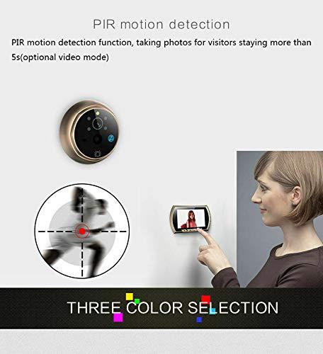 Eosphorus ML Digital TFT 4.3 inch LCD Peephole Doorbell Home Security Night Vision IR Camera by Eosphorus ML (Image #6)