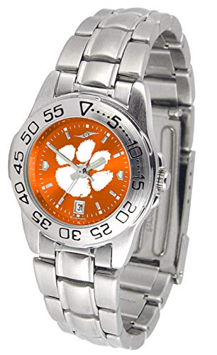 (Clemson Tigers - Ladies' Sport Steel AnoChrome)