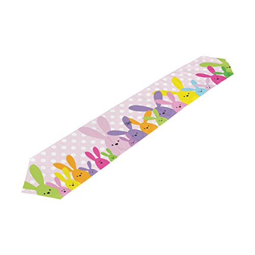 My Daily Colorful Rabbit Bunny Easter Table Runner 13 x 90 i