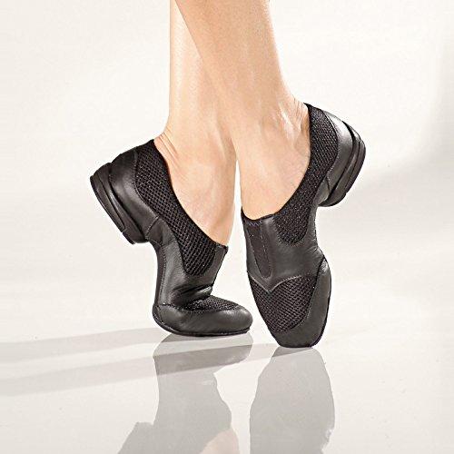 RUMPF Jazz Sneaker chaussures de danse chaussure de Jazz avec semelle partagée noir