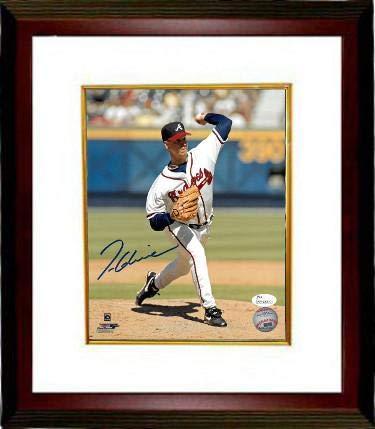 Signed Glavine Photo - 8x10 Custom Framing Witnessed Hologram - JSA Certified - Autographed MLB - Photo Glavine 8x10 Autographed Mlb