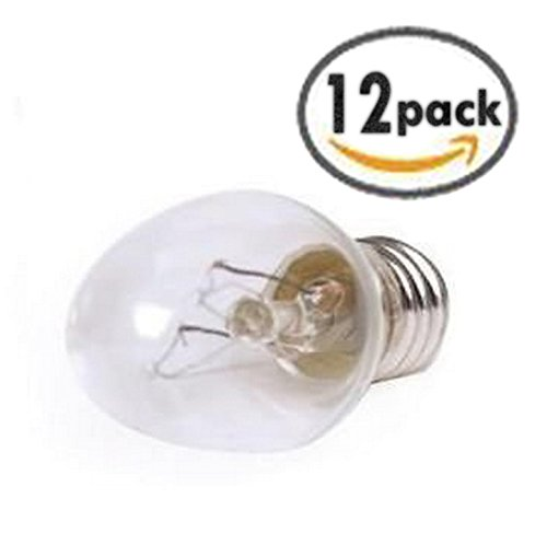 12 Pack 15 Watt Scentsy Bulb Replacements For Authentic